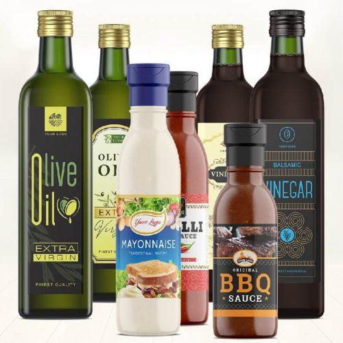 食用油标签
