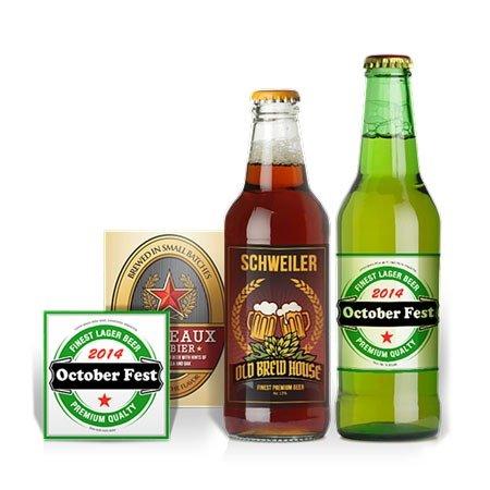 啤酒不干胶标签