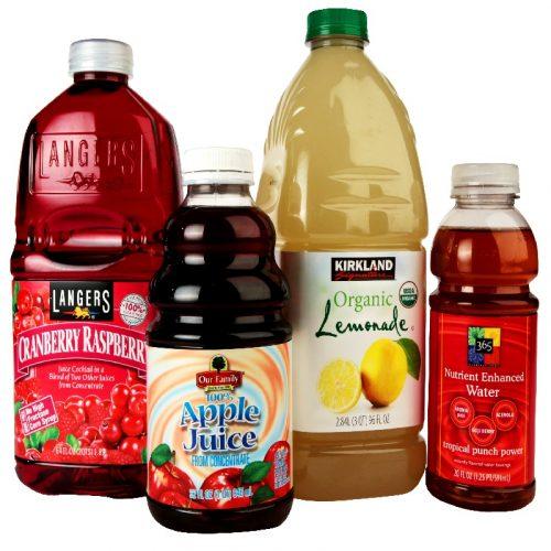 果汁饮料标签