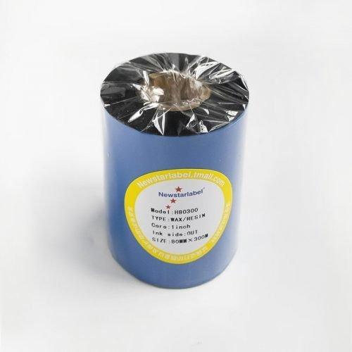 蜡基树脂基混合碳带