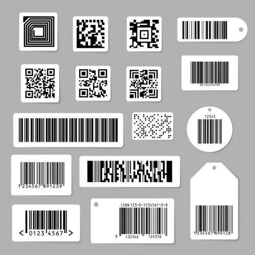 UPC条码标签