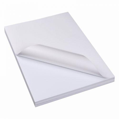 A4空白铜版纸不干胶标签