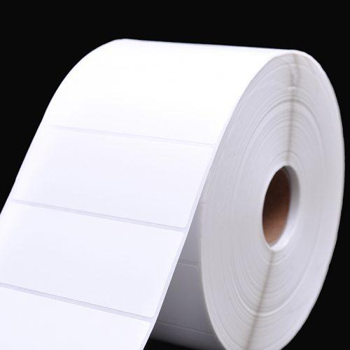 空白铜版纸不干胶标签