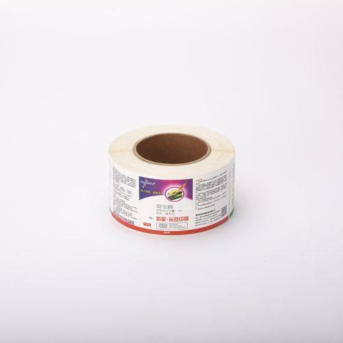 合成纸亚膜不干胶标签