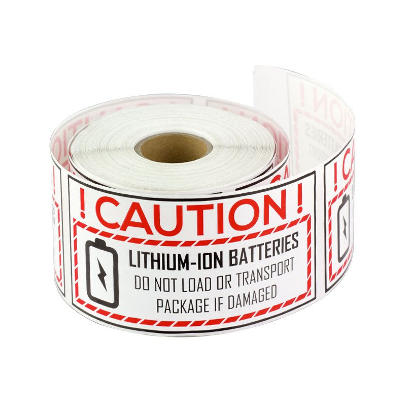 Battery label